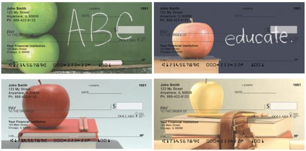 An Apple a Day Personal Checks