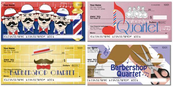 Barbershop Quartet Checks
