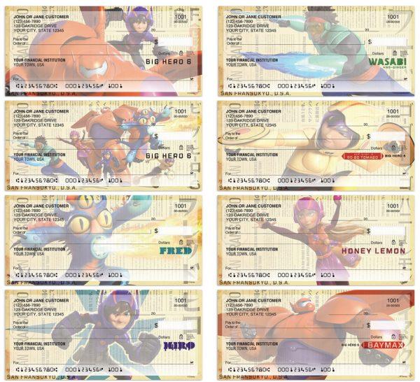 Big Hero 6 Checks