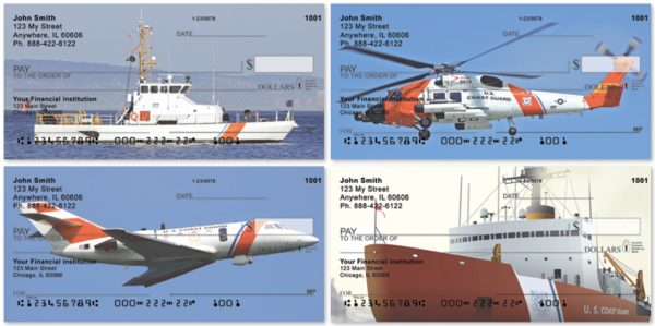 Coast Guard Personal Checks, Military Checks