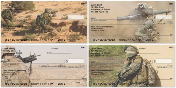 Desert Fighters Personal Checks