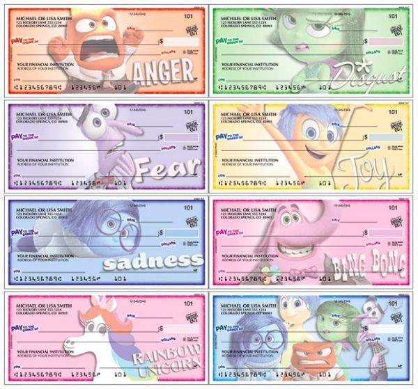 Disney•Pixar Inside Out Checks