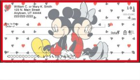 Disney Mickey and Minnie Mouse Checks