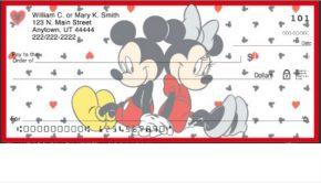 Disney Mickey and Minnie Mouse Checks