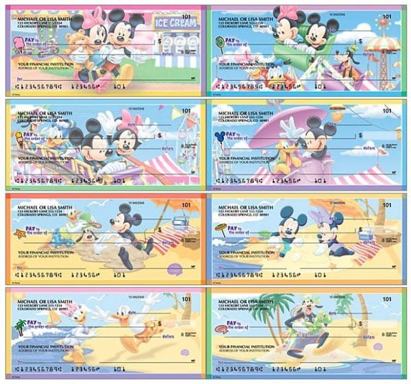 Disney Mickeys Adventures Checks