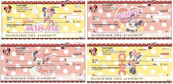 Disney Minnie Mouse Checks