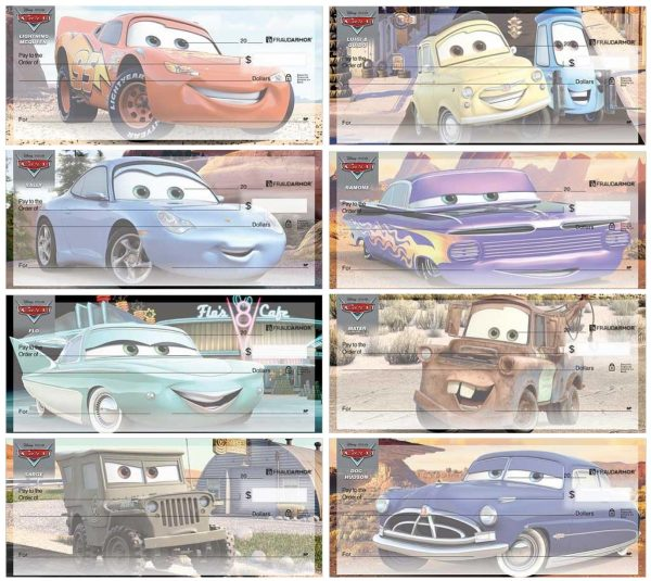 Disney Pixar Cars Checks