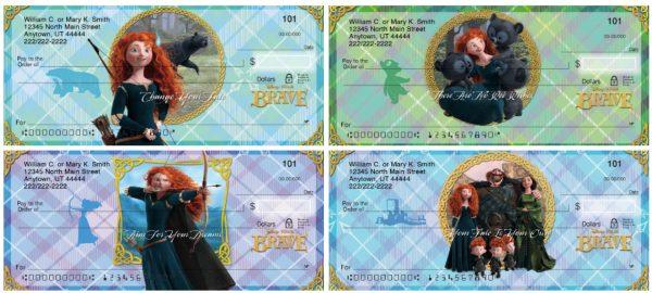 Disney Pixar Brave Personal Checks
