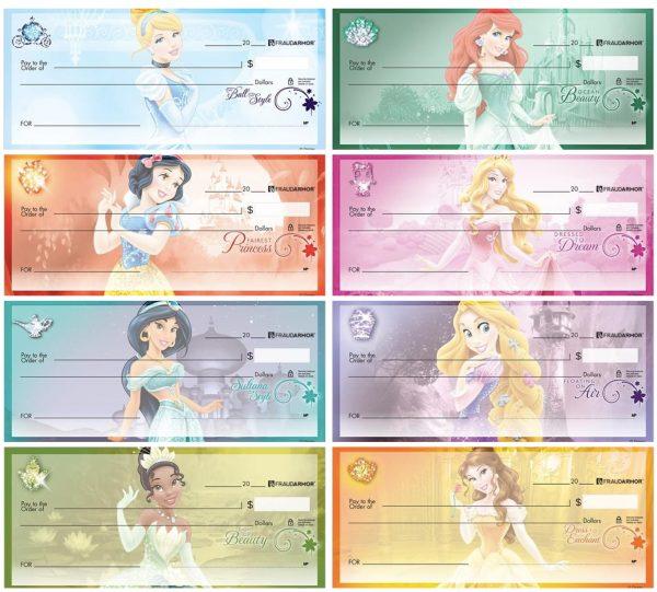 Disney Princess Checks