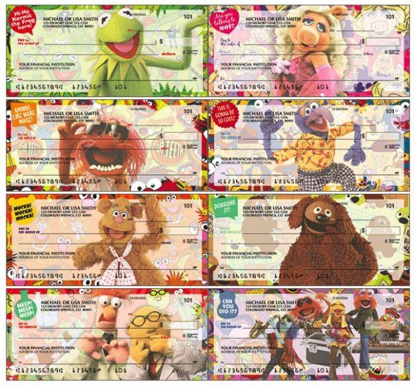 Disney The Muppets Checks