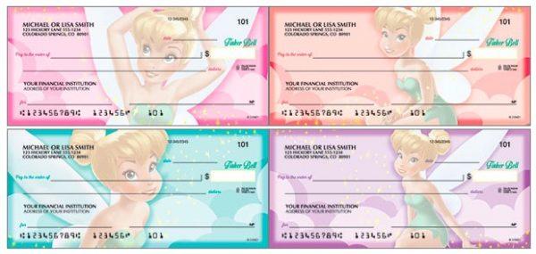 Disney Tinker Bell Checks