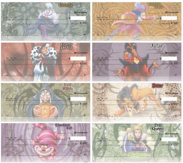 Disney Villains 8-Scene Checks