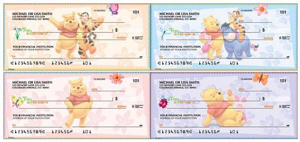 Disney Winnie the Pooh Checks
