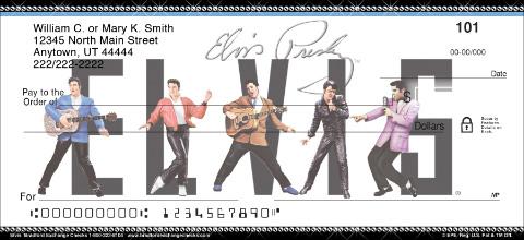 Elvis Personal Checks