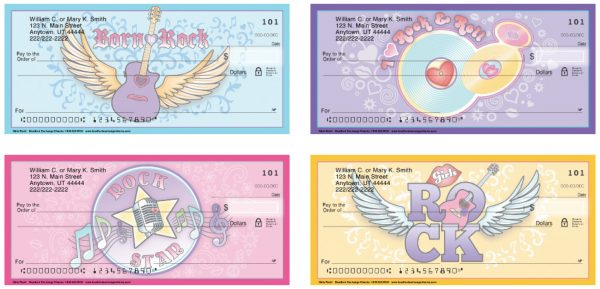 Girls Rock Personal Checks