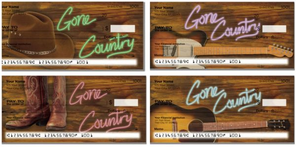 Gone Country Checks
