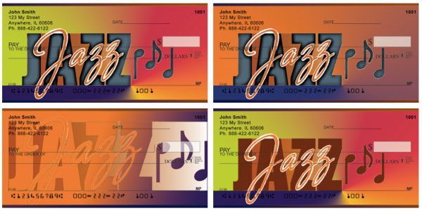 Jazz Personal Checks