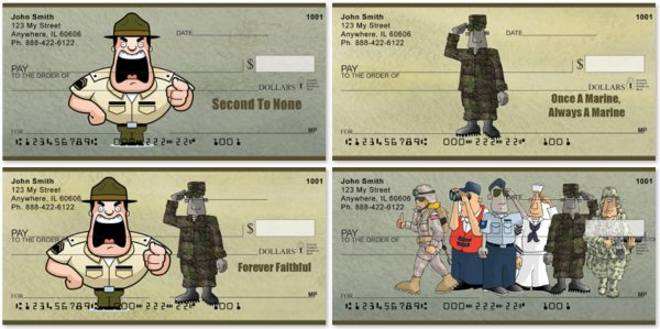 Marine Fun Personal Checks