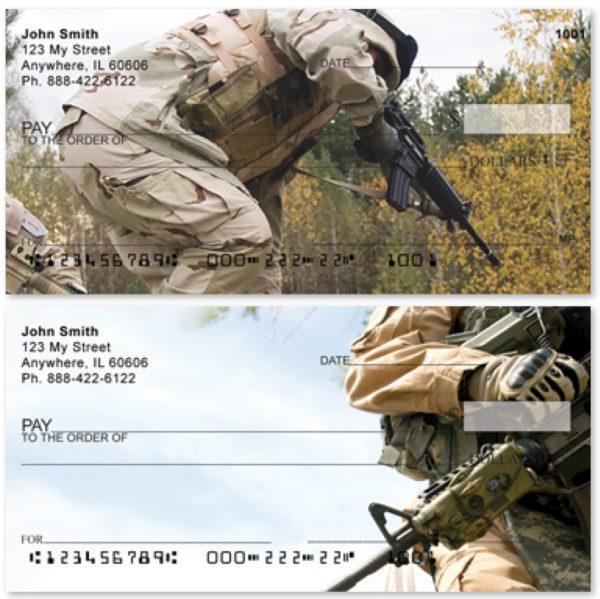 Marines In Training Personal Checks, Military Checks