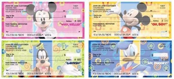 Mickey Fun-Tastic Checks