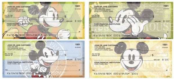 Mickey Mouse Squeaky Chic Checks