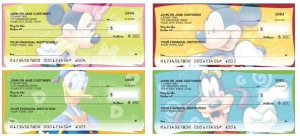 Mickey and Friends Checks