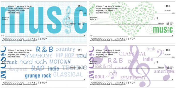 Music Personal Checks