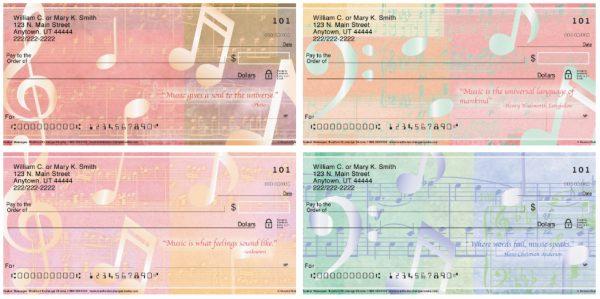 Music Speaks Personal Checks