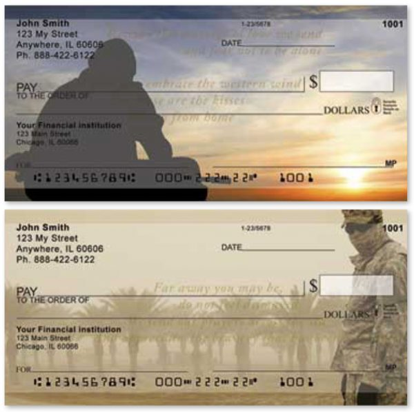 Our Soldiers Checks, Military Checks