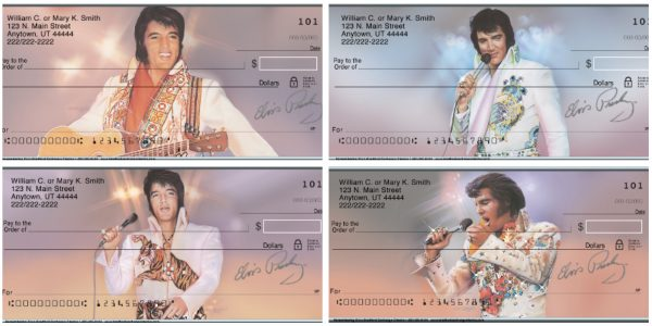 Remembering Elvis Personal Checks