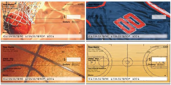 Shooting Hoops Basketball Personal Checks