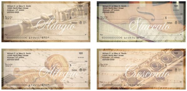 Sounds of the Symphony Personal Checks