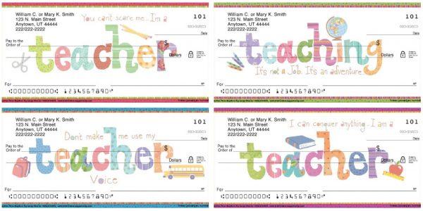 Teachers Rule! Personal Checks