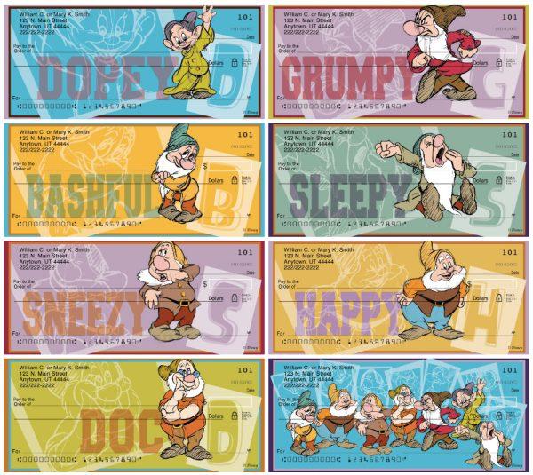 The Seven Dwarfs Personal Checks