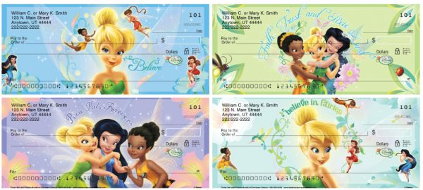 Tinker Bell and Friends Personal Checks