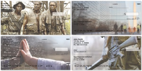 Vietnam War Memorials Personal Checks