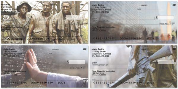 Vietnam War Memorials Personal Checks