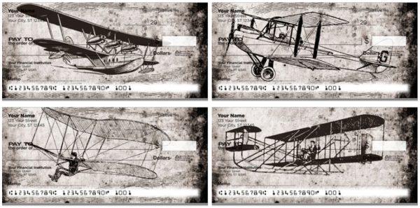 Vintage Plane Checks