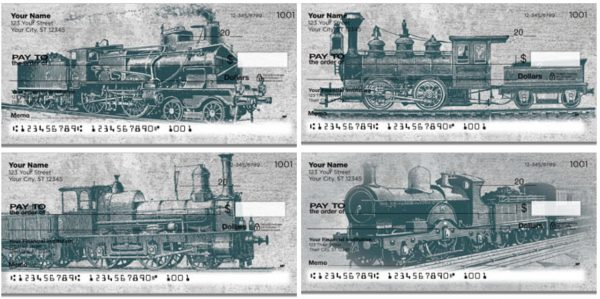 Vintage Train Checks