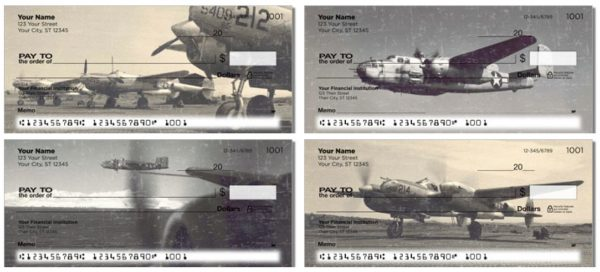 Vintage WWII Aircraft Checks
