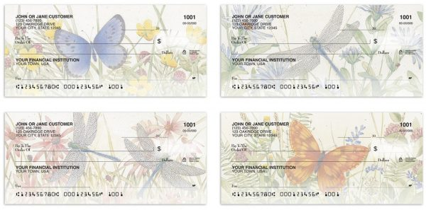 All-a-Flutter Butterflies Checks