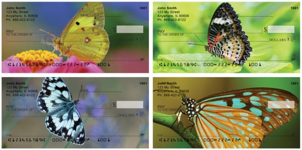 Butterfly Dreams Personal Checks