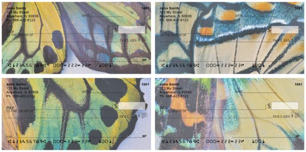 Butterfly Wings Personal Checks