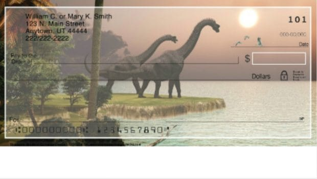 Dinosaur Checks