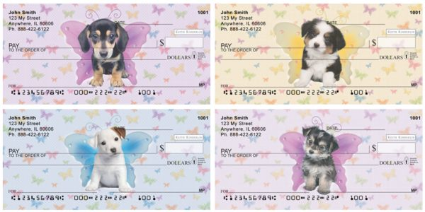 Dogs with Butterfly Wings Checks by Keith Kimberlin