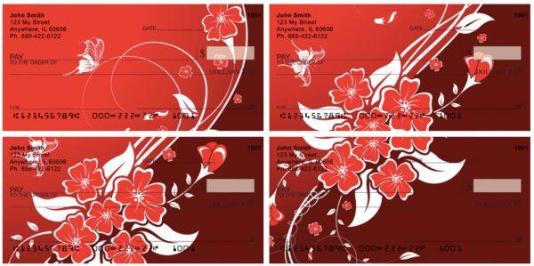 Floral Romance Checks