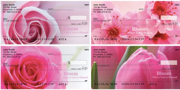 Bloom Where You're Planted Personal Checks