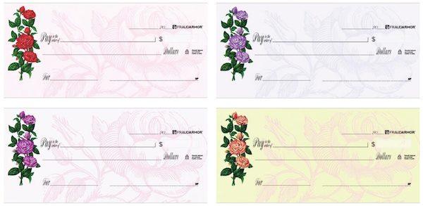 Garden Delight Rose Checks