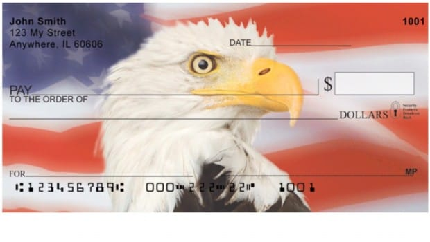 Patriotic Checks