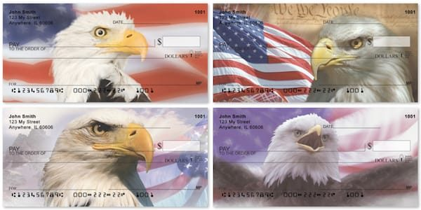 American Eagle Pride Flag Checks